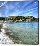 Llandudno Beach Acrylic Print
