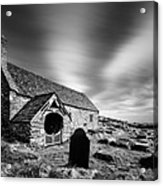 Llangelynnin Church Acrylic Print by Dave Bowman