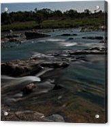 Llano River 2am-105143 Acrylic Print