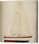 Lm Historic Sailboat Acrylic Print