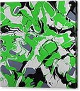 Lime Verve Acrylic Print