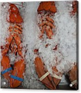 Lobster At Woodman's Acrylic Print