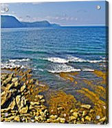 Lobster Cove In Rocky Harbour-nl Acrylic Print