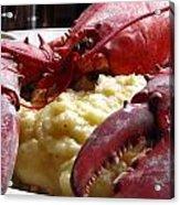 Lobster Dinner Acrylic Print