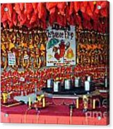 Lobster Flop Acrylic Print by Skip Willits