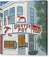 Lobster Pot Acrylic Print