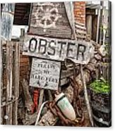 Lobster's Here Acrylic Print