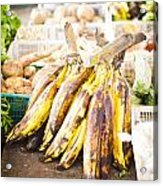 Local Asian Market Acrylic Print by Tuimages