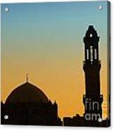 Local Cairo Mosque 03 Acrylic Print