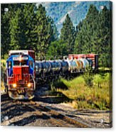 Local Train Acrylic Print