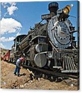 Locomotive Engineer Acrylic Print
