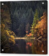 Loch Ard In The Fall Acrylic Print