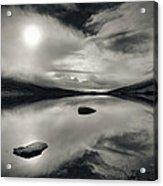 Loch Etive Acrylic Print by Dave Bowman