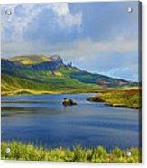 Loch Fada To The Storr Acrylic Print