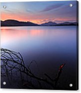 Loch Lomond Sunset Acrylic Print