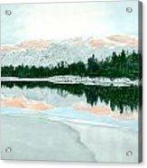 Loch Ossian Acrylic Print