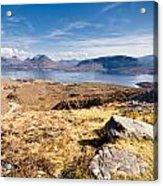 Loch Torridon From Bealach Na Gaoithe Acrylic Print