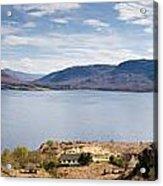 Loch Torridon Panorama Acrylic Print
