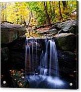 Loch Waterfall Acrylic Print