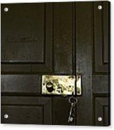 Lock And Key Acrylic Print