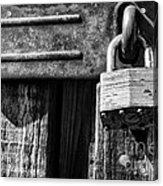Lock And Latch Acrylic Print