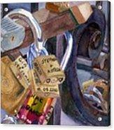 Locks Of Luck Acrylic Print
