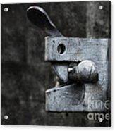 Lock Acrylic Print