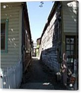 Locke Chinatown Series - Back Alley - 6 Acrylic Print