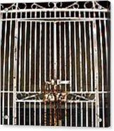 Locked Promenade Acrylic Print