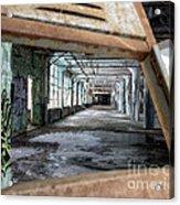 Locker View Acrylic Print