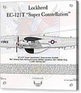 Lockheed Ec-121t Super Constellation Acrylic Print