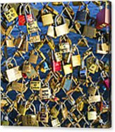 Locks Of Love Acrylic Print