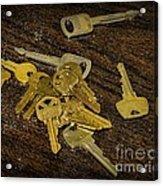 Locksmith - Rejected Keys Acrylic Print
