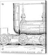 Locomotive, 1815 Acrylic Print