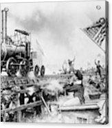 Locomotive, 1929 Acrylic Print