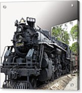 Locomotive 639 Type 2 8 2 Out Of Bounds Acrylic Print