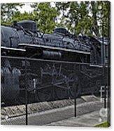 Locomotive 639 Type 2 8 2 Side View Acrylic Print