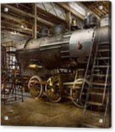 Locomotive - Repairing History Acrylic Print
