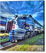 Locomotive Wabash E8 No 1009 Acrylic Print
