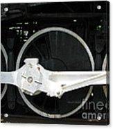Locomotive Wheels 2 Acrylic Print