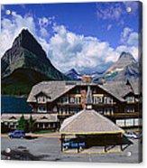 Lodge At Many Glacier, Glacier National Acrylic Print