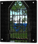 Lodge Window At The Clearing Acrylic Print