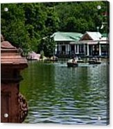 Loeb Boathouse Central Park Acrylic Print