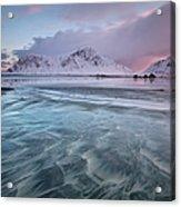 Lofoten Island Sunrise Acrylic Print