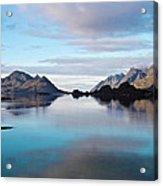 Lofoten Islands Water World Acrylic Print