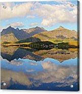 Lofoten Panorama Selfjorden Norway Acrylic Print