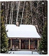 Log Cabin  Acrylic Print