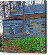 Log Cabin Revisited Spring 2014 Acrylic Print