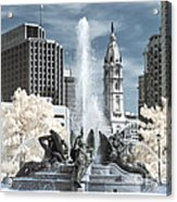 Logan Fountain Acrylic Print