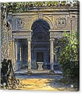Loggia Of The Muses Acrylic Print